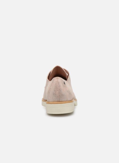 Scarpe con lacci Tamaris Dora Rosa immagine destra