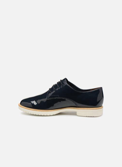 Chaussures à lacets Tamaris Dorothea Bleu vue face
