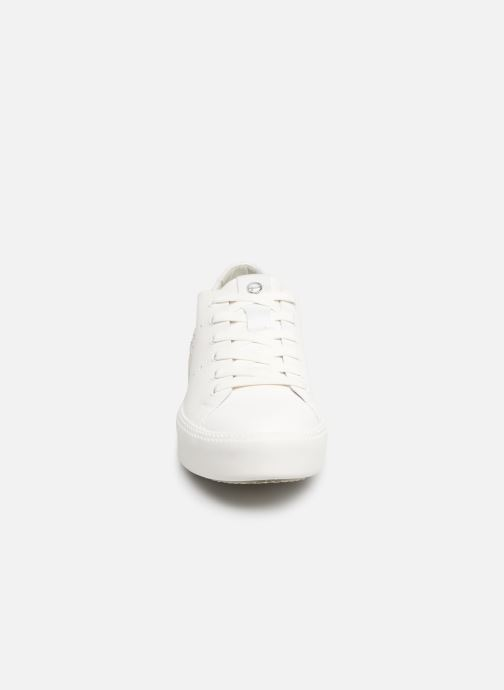 Baskets Tamaris Germana Blanc vue portées chaussures