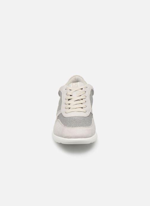 Baskets Tamaris Gretel Gris vue portées chaussures