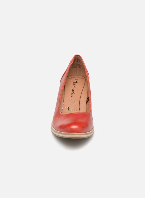 Escarpins Tamaris Helmina Rouge vue portées chaussures