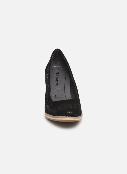 Escarpins Tamaris Helmina Noir vue portées chaussures