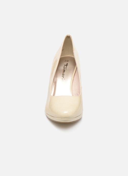 Escarpins Tamaris Hilda Blanc vue portées chaussures