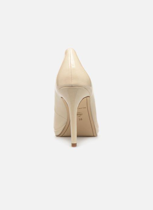 Zapatos de tacón Tamaris Hilda Blanco vista lateral derecha