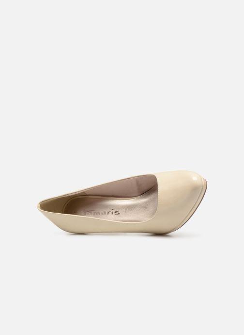 Zapatos de tacón Tamaris Hilda Blanco vista lateral izquierda