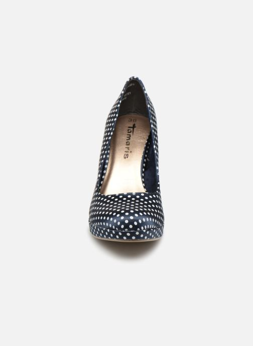 Escarpins Tamaris Jessica Bleu vue portées chaussures