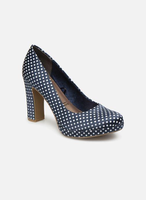 High heels Tamaris Jessica Blue detailed view/ Pair view