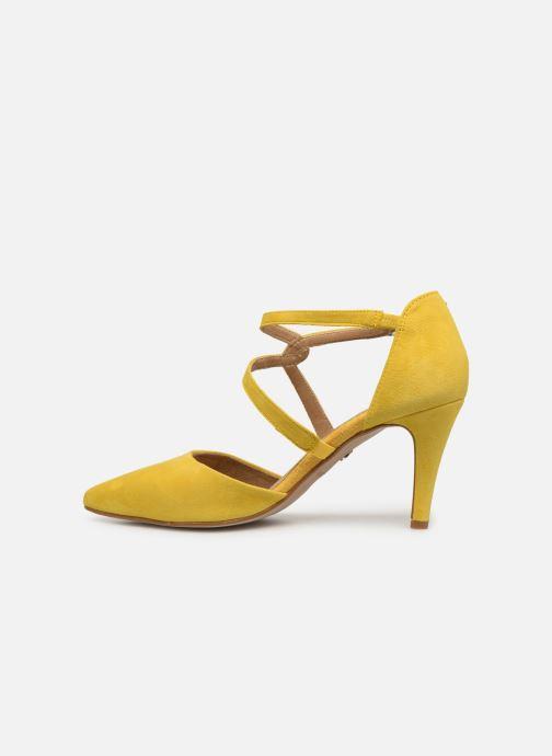 Zapatos de tacón Tamaris Lydia Amarillo vista de frente