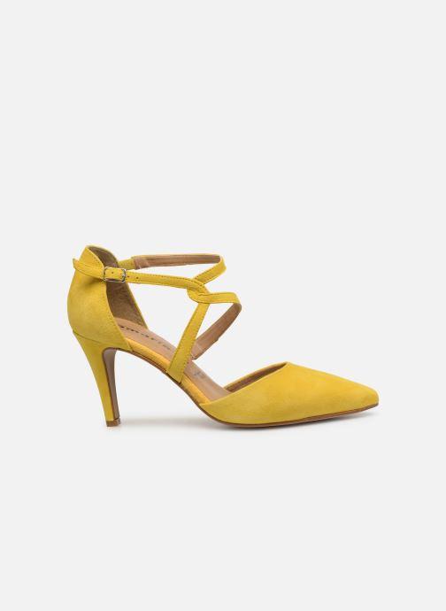 High heels Tamaris Lydia Yellow back view