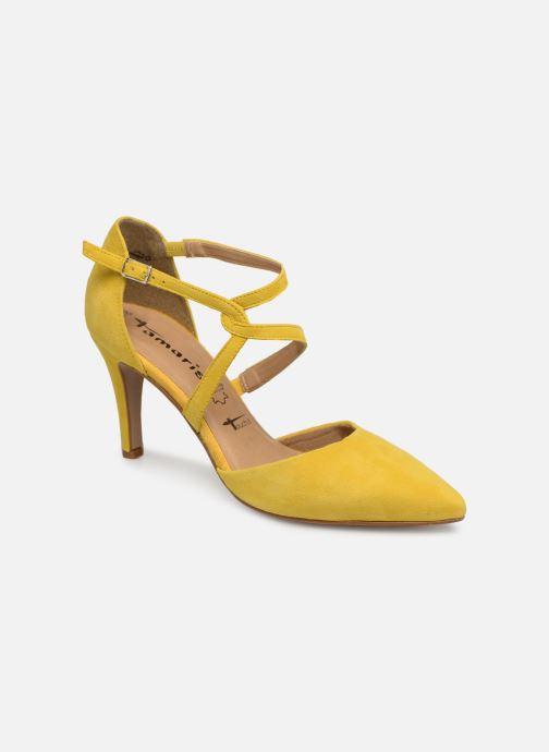 High heels Tamaris Lydia Yellow detailed view/ Pair view