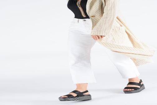 Sandales et nu-pieds Gioseppo 48567 Noir vue bas / vue portée sac