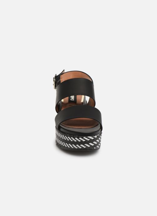 Sandalen Gioseppo 48567 schwarz schuhe getragen