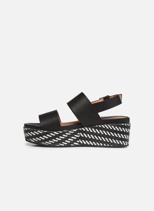 Sandales et nu-pieds Gioseppo 48567 Noir vue face