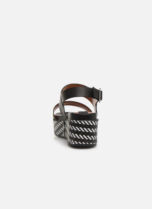 Sandales et nu-pieds Gioseppo 48567 Noir vue droite