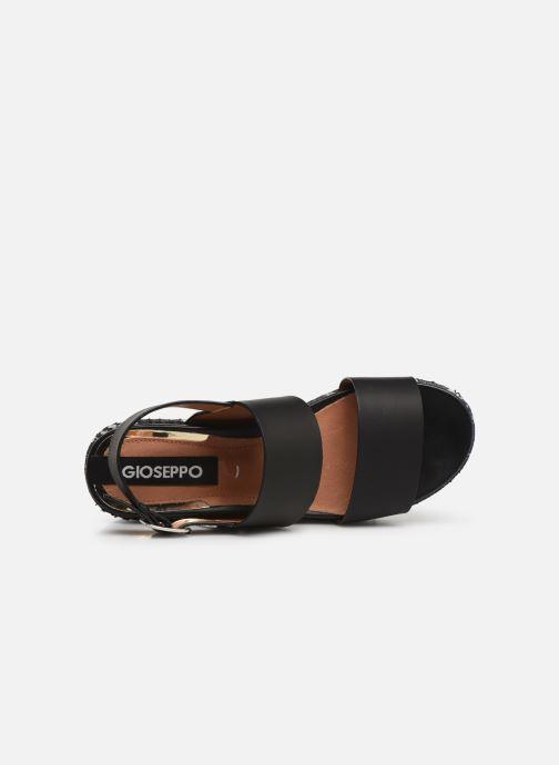 Sandales et nu-pieds Gioseppo 48567 Noir vue gauche