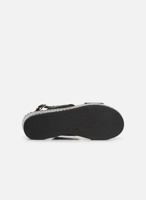 Sandalen Gioseppo 48567 schwarz ansicht von oben
