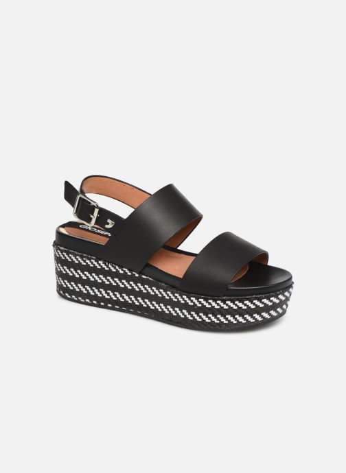 Sandals Gioseppo 48567 Black detailed view/ Pair view