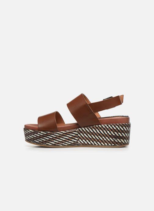 Sandales et nu-pieds Gioseppo 48567 Marron vue face
