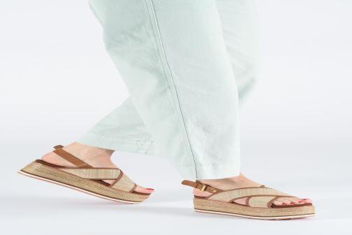Sandales et nu-pieds Gioseppo 47205 Marron vue bas / vue portée sac