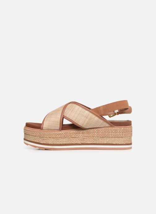 Sandales et nu-pieds Gioseppo 47205 Marron vue face