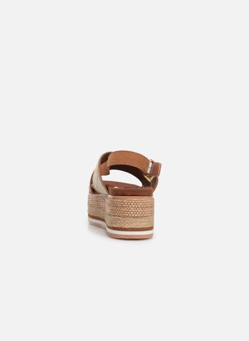 Sandales et nu-pieds Gioseppo 47205 Marron vue droite