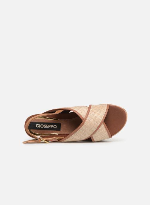 Sandales et nu-pieds Gioseppo 47205 Marron vue gauche