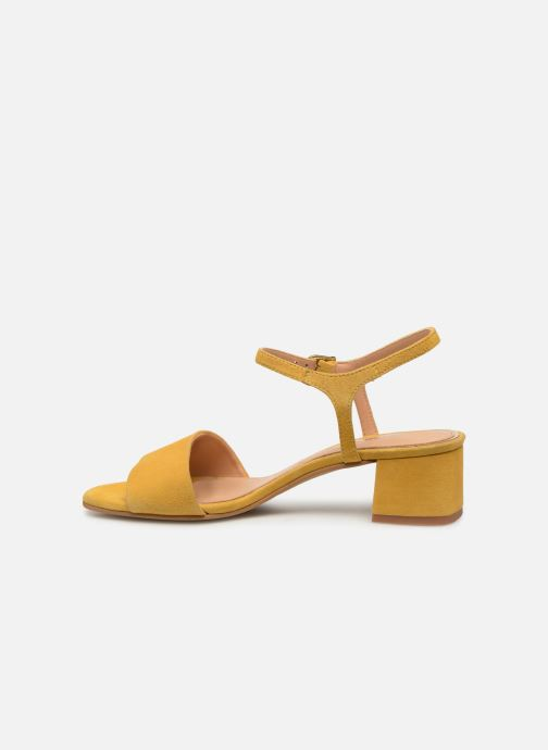 Sandals Gioseppo 49044 Yellow front view
