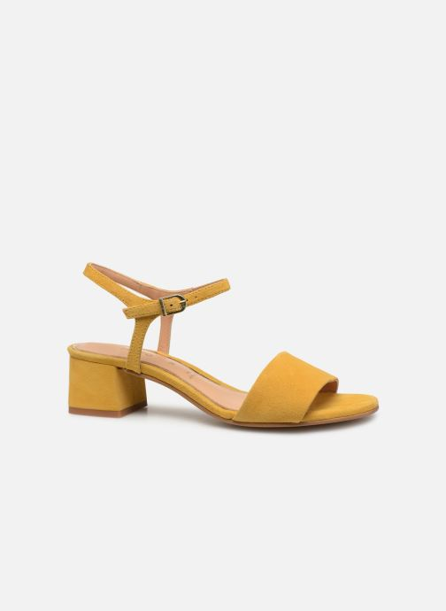 Sandals Gioseppo 49044 Yellow back view