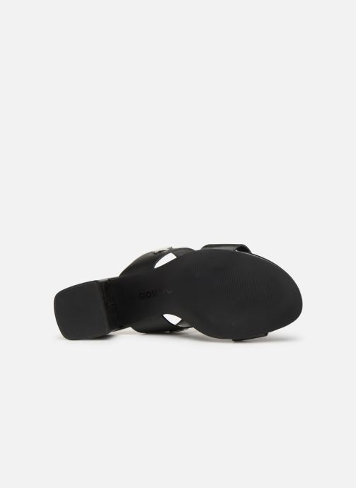Mules & clogs Gioseppo 49040 Black view from above