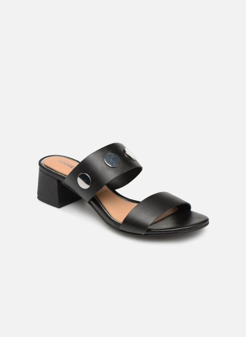 Mules & clogs Gioseppo 49040 Black detailed view/ Pair view