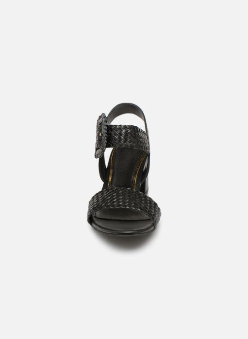 Sandales et nu-pieds Gioseppo 48319 Noir vue portées chaussures