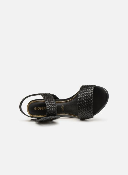 Sandales et nu-pieds Gioseppo 48319 Noir vue gauche