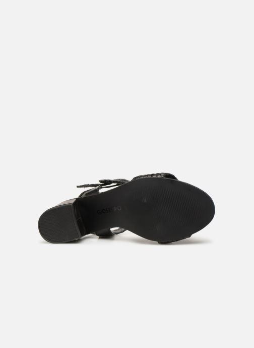 Sandales et nu-pieds Gioseppo 48319 Noir vue haut