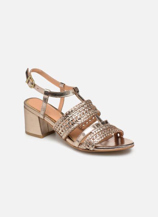 Sandales et nu-pieds Gioseppo 49070 Or et bronze vue détail/paire