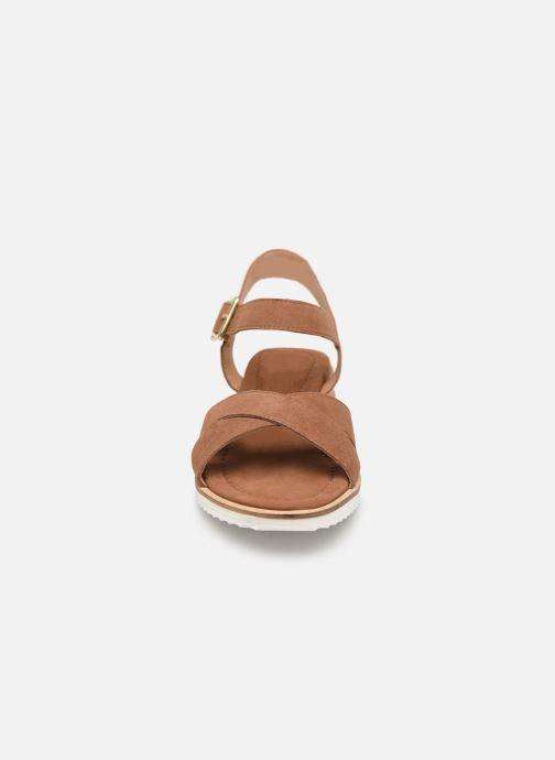 Sandales et nu-pieds Gioseppo 48937 Marron vue portées chaussures