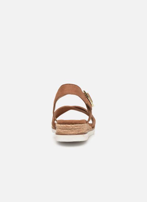 Sandales et nu-pieds Gioseppo 48937 Marron vue droite