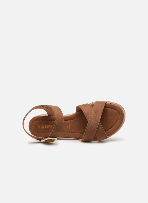 Sandales et nu-pieds Gioseppo 48937 Marron vue gauche