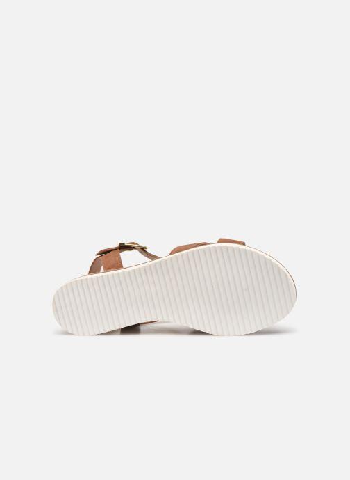 Sandales et nu-pieds Gioseppo 48937 Marron vue haut