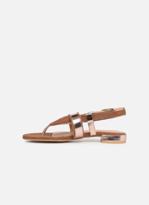 Sandales et nu-pieds Gioseppo 47244 Marron vue face