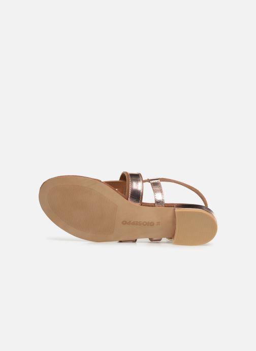 Sandales et nu-pieds Gioseppo 47244 Marron vue haut