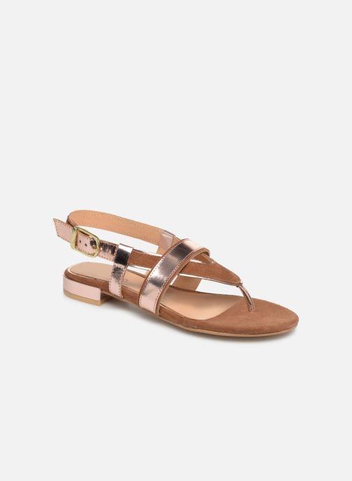 Sandales et nu-pieds Gioseppo 47244 Marron vue détail/paire