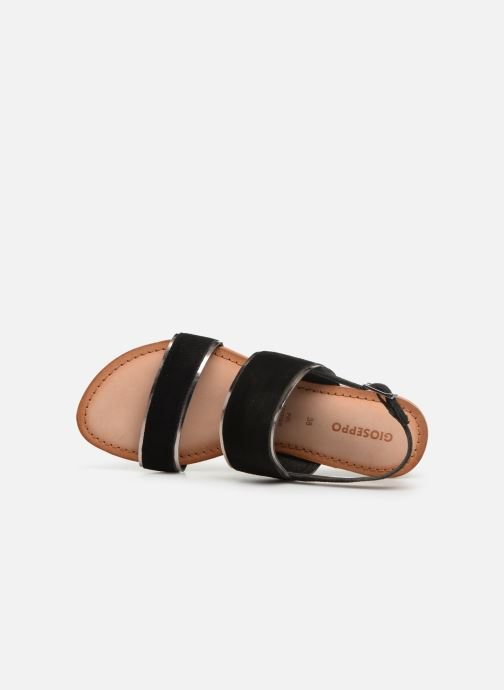Sandals Gioseppo 48794 Black view from the left