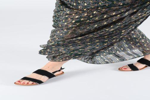 Sandales et nu-pieds Gioseppo 48794 Jaune vue bas / vue portée sac