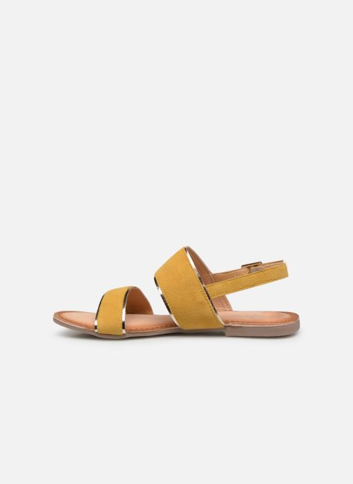Sandals Gioseppo 48794 Yellow front view
