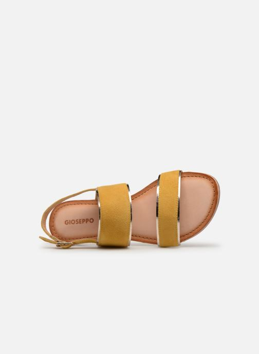 Sandals Gioseppo 48794 Yellow view from the left