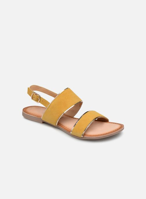 Sandals Gioseppo 48794 Yellow detailed view/ Pair view