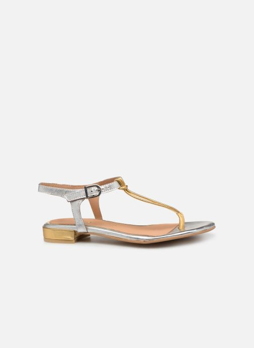 Sandals Gioseppo 47283 Silver back view