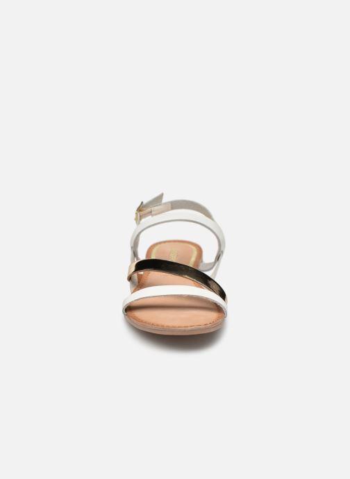 Sandales et nu-pieds Gioseppo 47798 Blanc vue portées chaussures