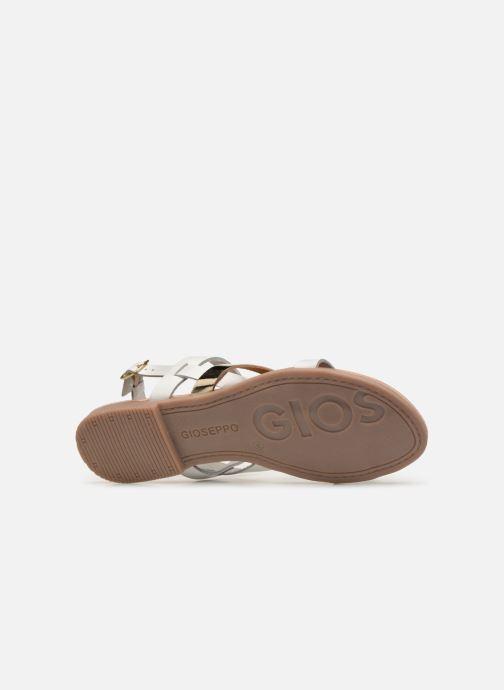Sandales et nu-pieds Gioseppo 47798 Blanc vue haut
