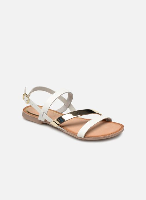 Sandals Gioseppo 47798 White detailed view/ Pair view